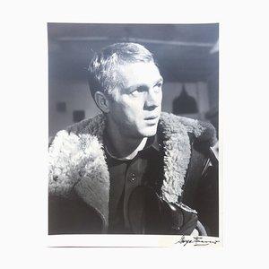 Steve McQueen.War Lover. Pensif. Photograph by George Barris, 1962