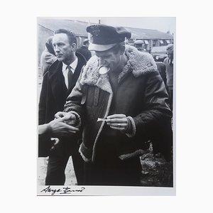 Steve McQueen. Amant de Guerre. Détente Photographie par George Barris, 1962
