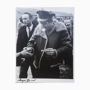 Steve McQueen. War Lover. Détente. Photograph by George Barris, 1962