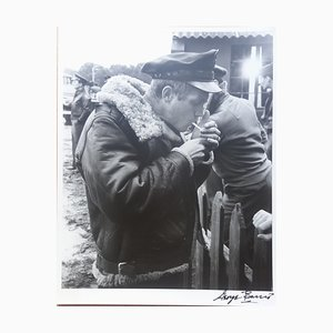 Steve McQueen. War Lover. La Cigarette. Photograph by George Barris, 1962