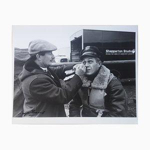 Fotografía Steve McQueen. War Lover. Maquillage. de George Barris, 1962