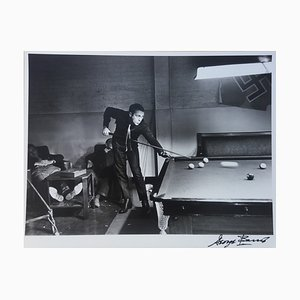 Steve McQueen. La Grande Évasion. Billiards. Photograph by George Barris, 1962
