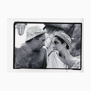 Liz & Dick Photograph by Bert Stern, 2009