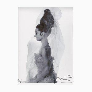 Photographie de Profil Audrey Hepburn par Bert Stern, 2010