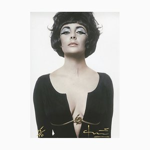 Fotografía Cleopatra / Liz Taylor de Bert Stern, 2012