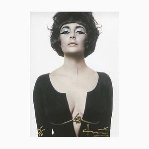 Photographie Cleopatra / Liz Taylor par Bert Stern, 2012