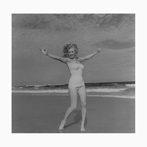 Marylin Monroe Photograph by André de Dienes, 1965