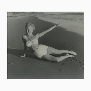 Marilyn Monroe Photograph by André de Dienes, 1965