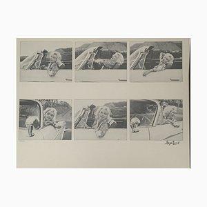 Car Montage Fotolithografie von George Barris, 1987