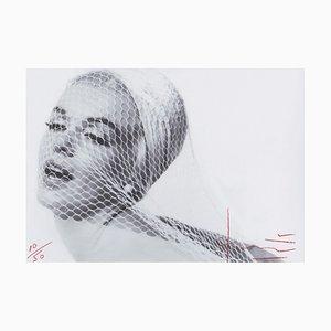 Marilyn in the Wedding Veil Fotografie von Bert Stern, 2012