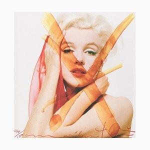 Marilyn Monroe Crucifix 3 Fotografie von Bert Stern, 2012