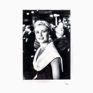 Grace Kelly Fotografie von Franck Worth, 1991