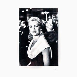 Grace Kelly Photograph by Franck Worth, 1991