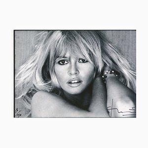 Brigitte Bardot. Saint Tropez. Fotografie von Bert Stern, 2011