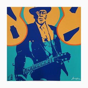 John Lee Hooker Fotografie von Ivan Messac, 2013