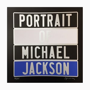 Michael Jackson Dedicated Photograph by Joel Ducorroy, 2012