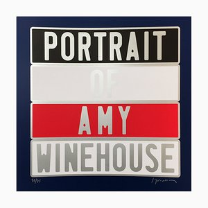 Amy Winehouse Dedicated Photograph by Joel Ducorroy, 2012