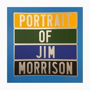 Jim Morrison Dedicated Photograph by Joel Ducorroy, 2012
