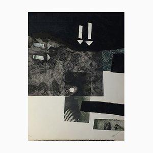 Composition Radierung von Antoni Clavé, 1982