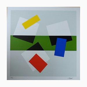 Serigrafía Hommage à Matisse II de Joel Froment, 2016