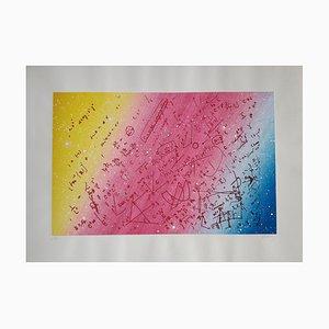 Fouillis mathématique pour un univers en enroulement torsadé Silkscreen Print, 1980s