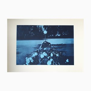 Le Lampadaire Lithografie von Jacques Monory, 1980er