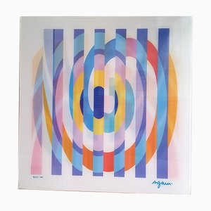 Geometric 2 Agam Screen Print by Yaacov Agam, 1975