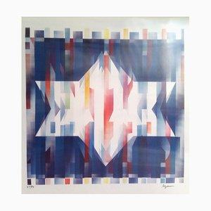 Geometric 5 Agam Screen Print by Yaacov Agam, 1975