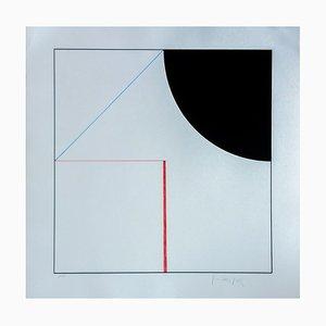 Les 3 Figures Silkscreen Print by Gottfried Honegger, 2015