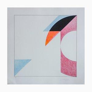 Le Carré Transparent Silkscreen Print by Gottfried Honegger, 2015