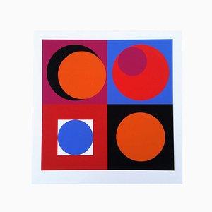Affiche Claisse 25 Composition Géométrique par Geneviève Claisse, 2014