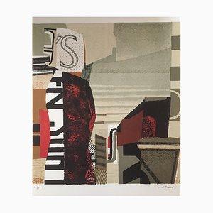 La Dame nordique Lithografie von Max Papart, 1947