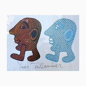 Capitipède Duo 1 Siebdruck von Yvon Taillandier, 2015