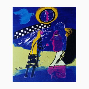 Cobra Screen Print by Corneille, 2000