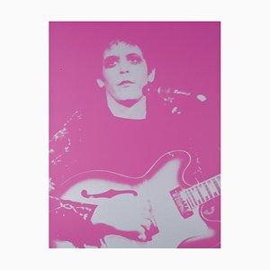 Lou Reed Transformer Siebdruck von Mick Rock, 2000
