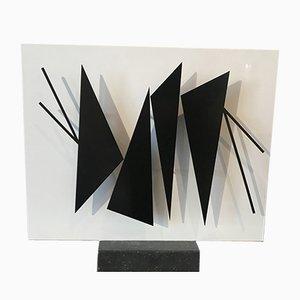 Sculpture RIPH 1966 en Métal par Geneviève Claisse, 1966