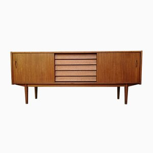 Mid-Century Swedish Teak Trio Sideboard by Nils Jonsson for Hugo Troeds, 1950s