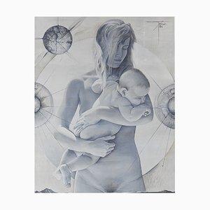 Grande Affiche Vintage par Pierre-Yves Tremois, 1960s