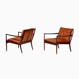 Samso Stühle aus Palisander von Ib Kofod-Larsen für Olof Perssons Fatoljindustri, 1950er, 2er Set