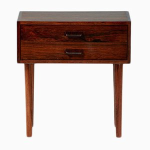 Mid-Century Danish Rosewood Bedside Cabinet by Poul Volther, 1960s