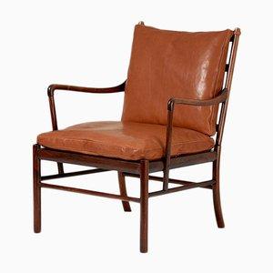 Dänischer PJ 149 Colonial Stuhl von Ole Wanscher für Poul Jeppesens Møbelfabrik, 1949