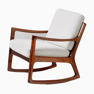 Danish Senator Rocking Chair by Ole Wanscher for France & Søn, 1960s