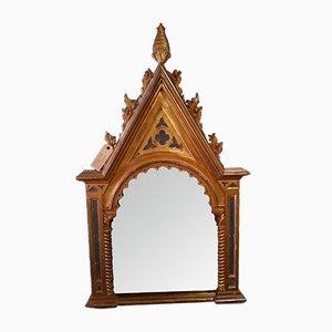 Antique Altar Card Wall Mirror