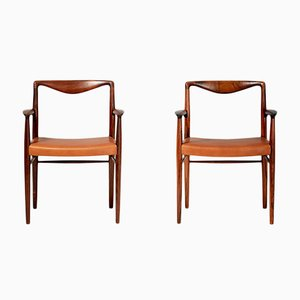Rosewood Armchairs by Kai Lyngfeldt-Larsen for Søren Willadsen Møbelfabrik, 1960s, Set of 2