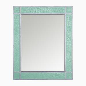 Sottobosco Wandspiegel mit grünem Rahmen von Cupioli Luxury Living