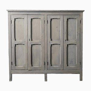 Antique Italian Poplar Cabinet