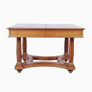 Table de Salle à Manger Extensible Empire Antique en Noyer, Italie