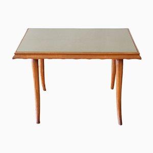 Tavolino da caffè in legno di ciliegio di Paolo Buffa, Italia, anni '50