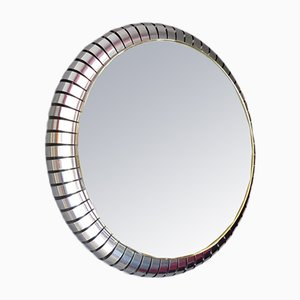 Vintage Industrial Italian Mirror, 1970s