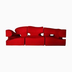 Italienisches Vintage Misfits Sofa Set von Ron Arad für Moroso, 2000er